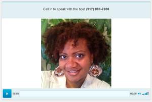 Jamila on Tonya ParkerMBSF  radio show